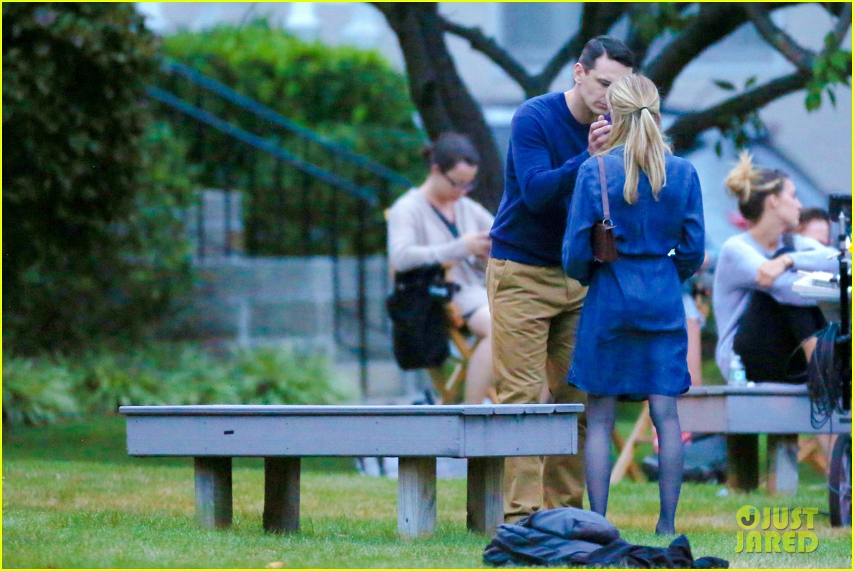 james franco emma roberts kiss park michael filming 453187040