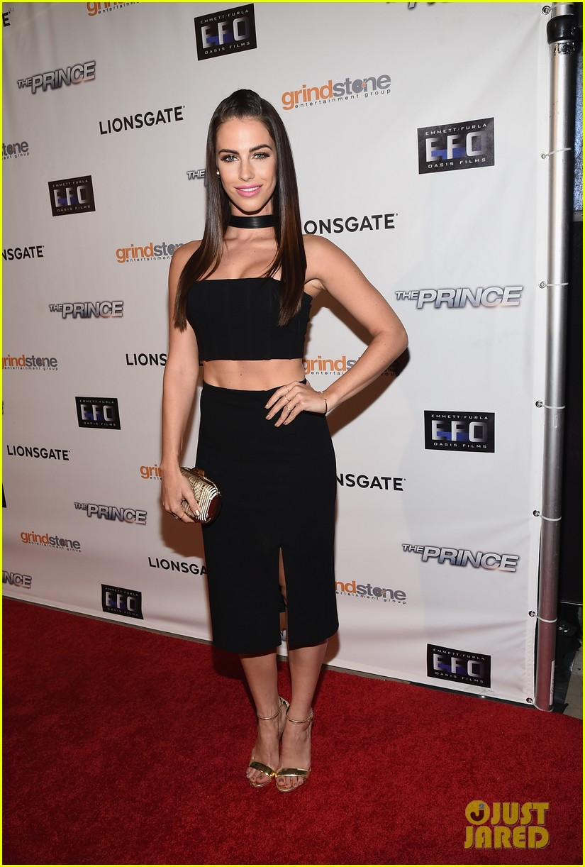 jessica lowndes the prince hollywood premiere 073178959