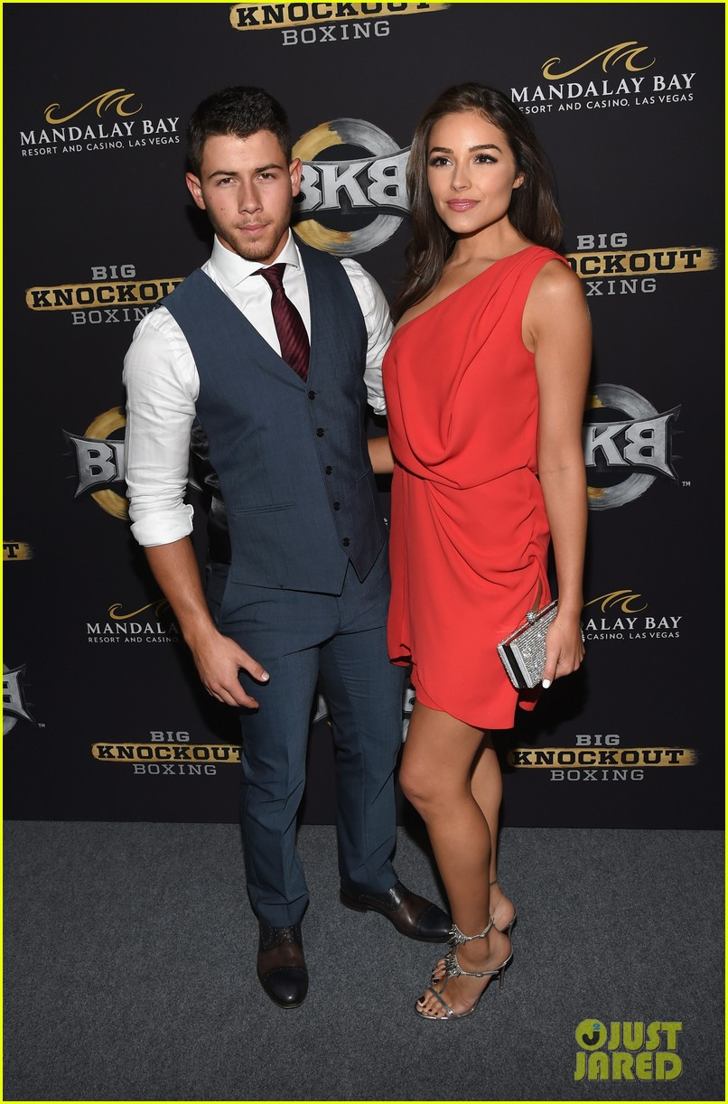 nick jonas olivia culpo big knockout boxing bkb 133177848