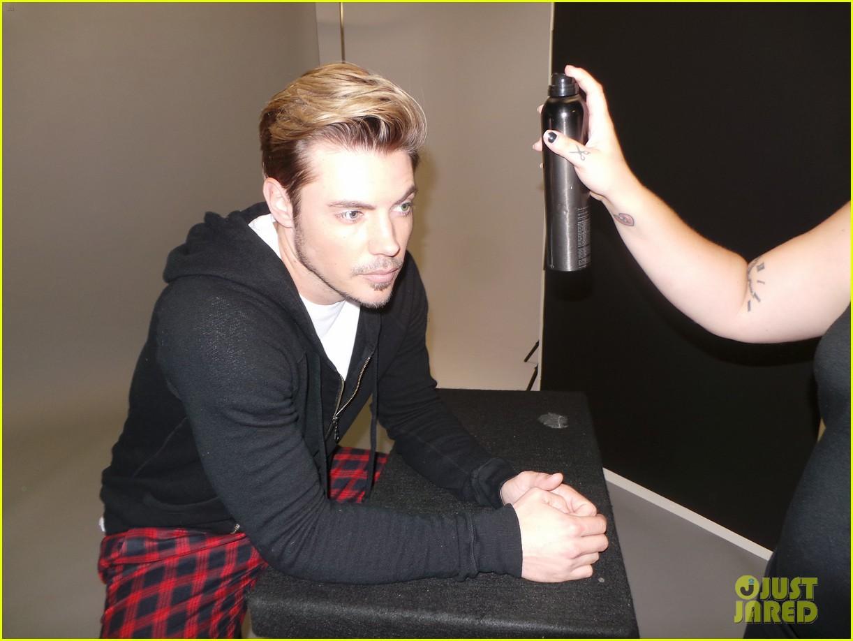 josh henderson jj spotlight behind the scenes pics 053184222