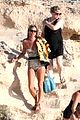 kate moss shows off body animal print bathing suit 21