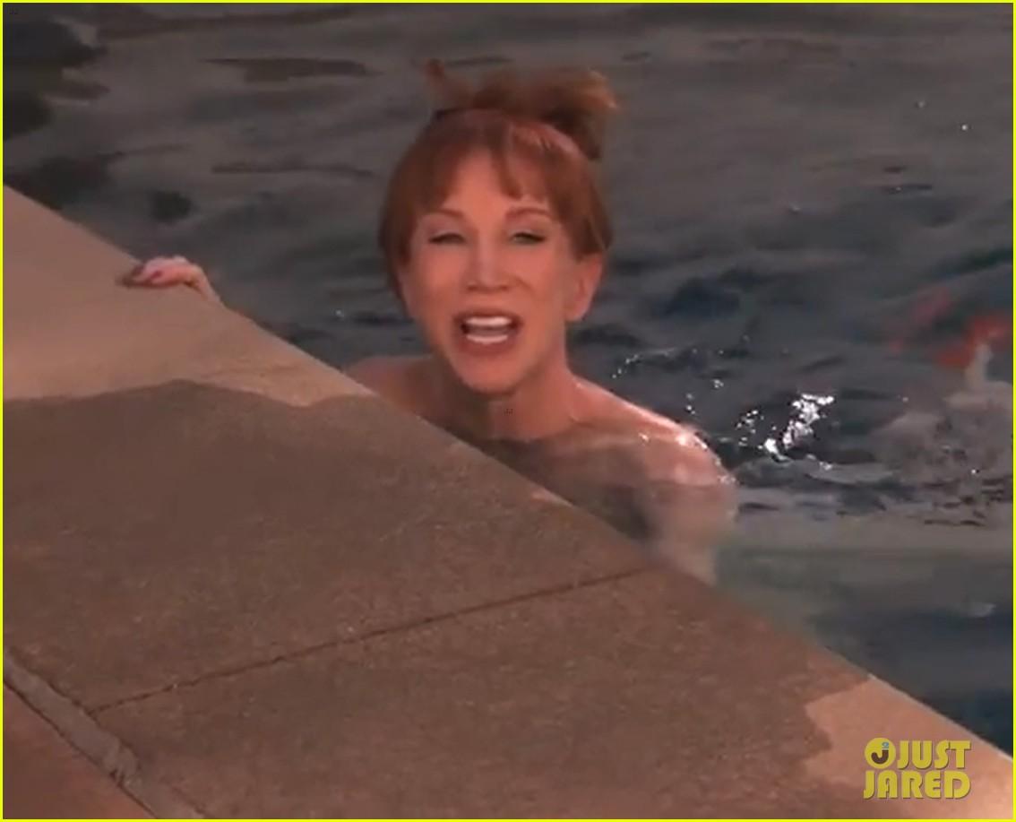 kathy griffin naked ice bucket challenge kimmel 01