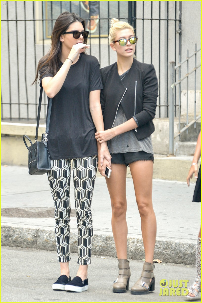 kendall jenner hailey baldwin cab just kendall now 033186132