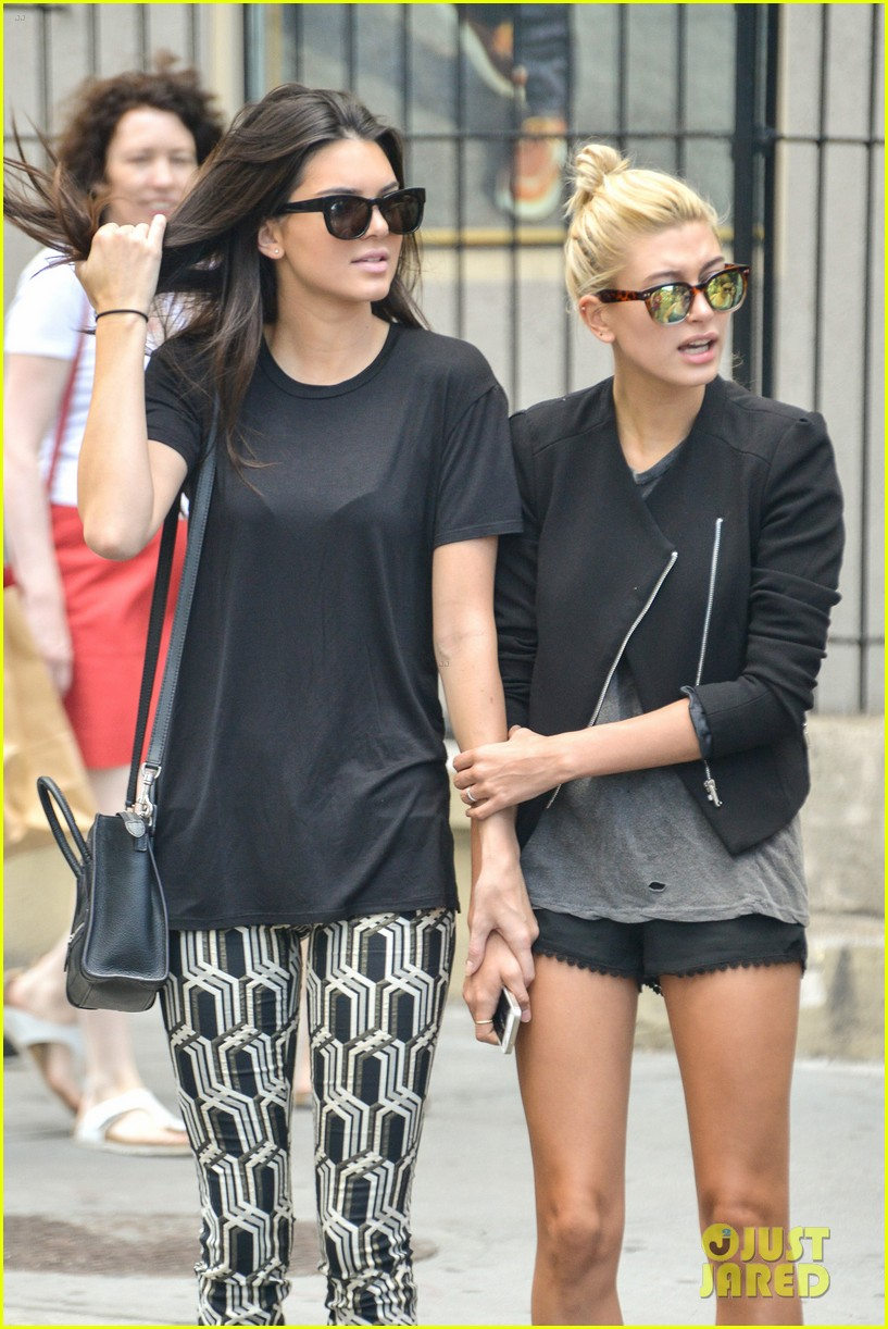 kendall jenner hailey baldwin cab just kendall now 053186134