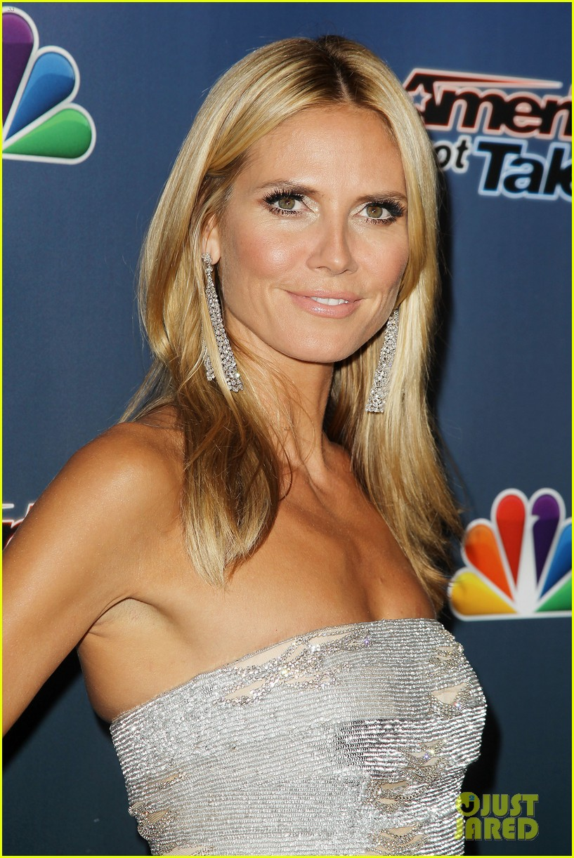 heidi klum keeps it busy in nyc before america's got talent quarter finals 01