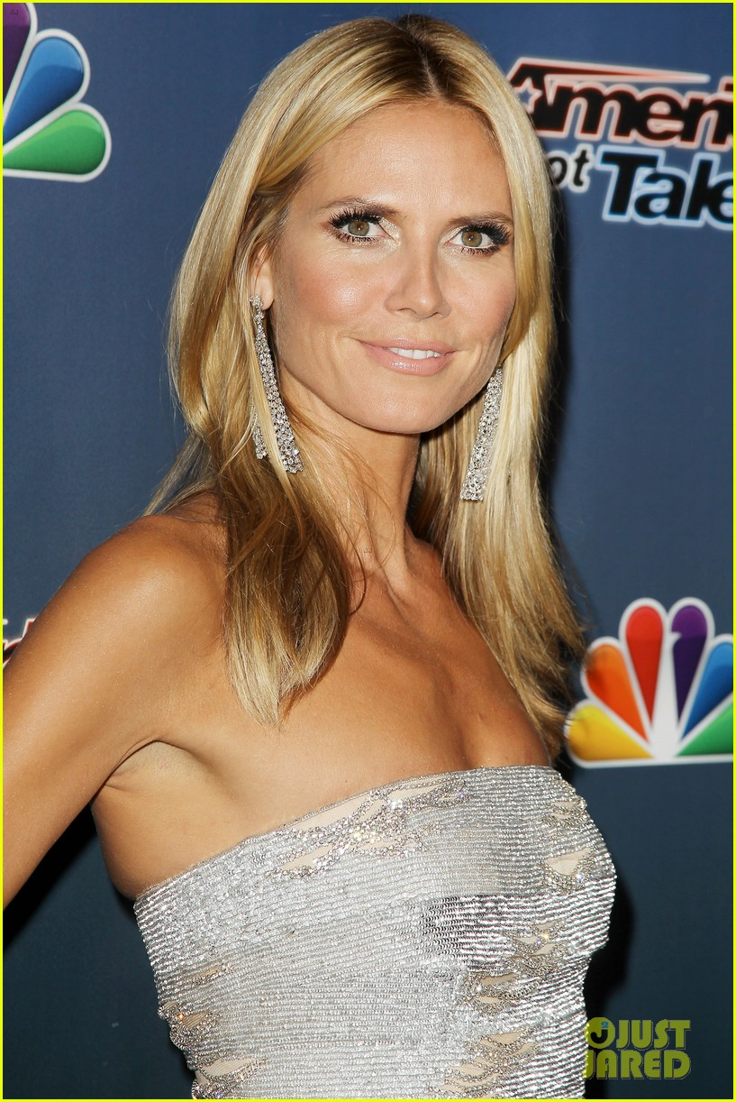 heidi klum keeps it busy in nyc before america's got talent quarter finals 09