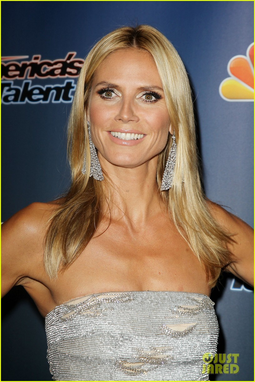 heidi klum keeps it busy in nyc before america's got talent quarter finals 14