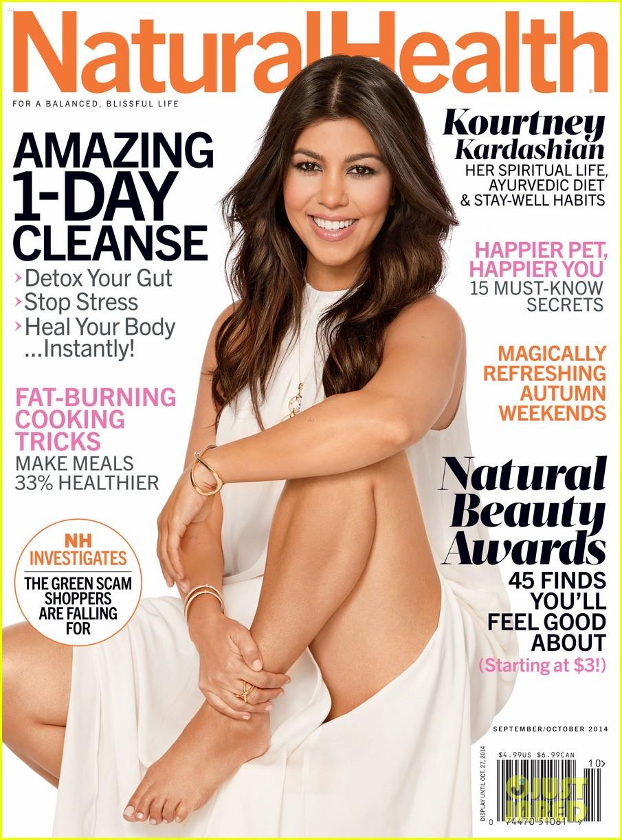 kourtney kardashian covers natural health magazine 013179672