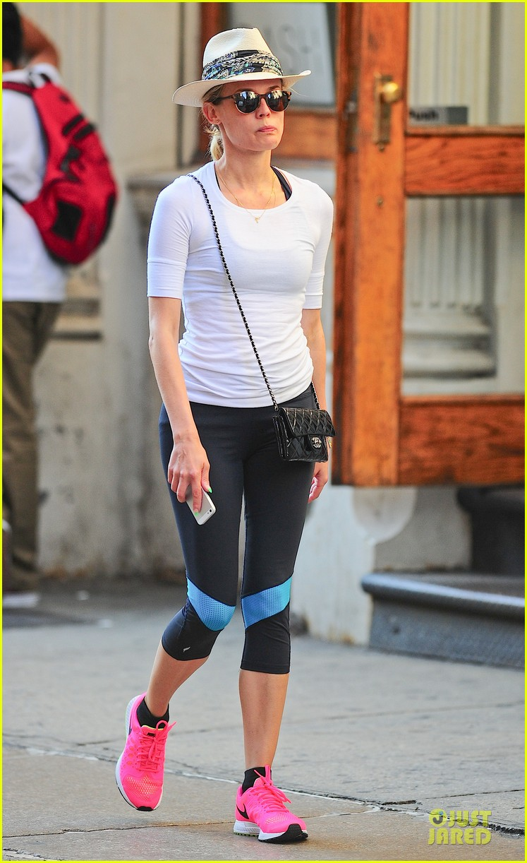diane kruger hot pink sneakers capture our attention 01