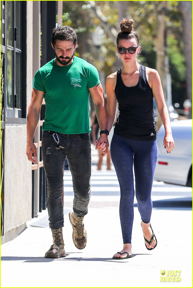 shia labeouf mia goth enjoy lunch date at granville 093181066