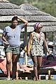 queen latifah shares kiss with girlfriend during romantic italian vaca 11