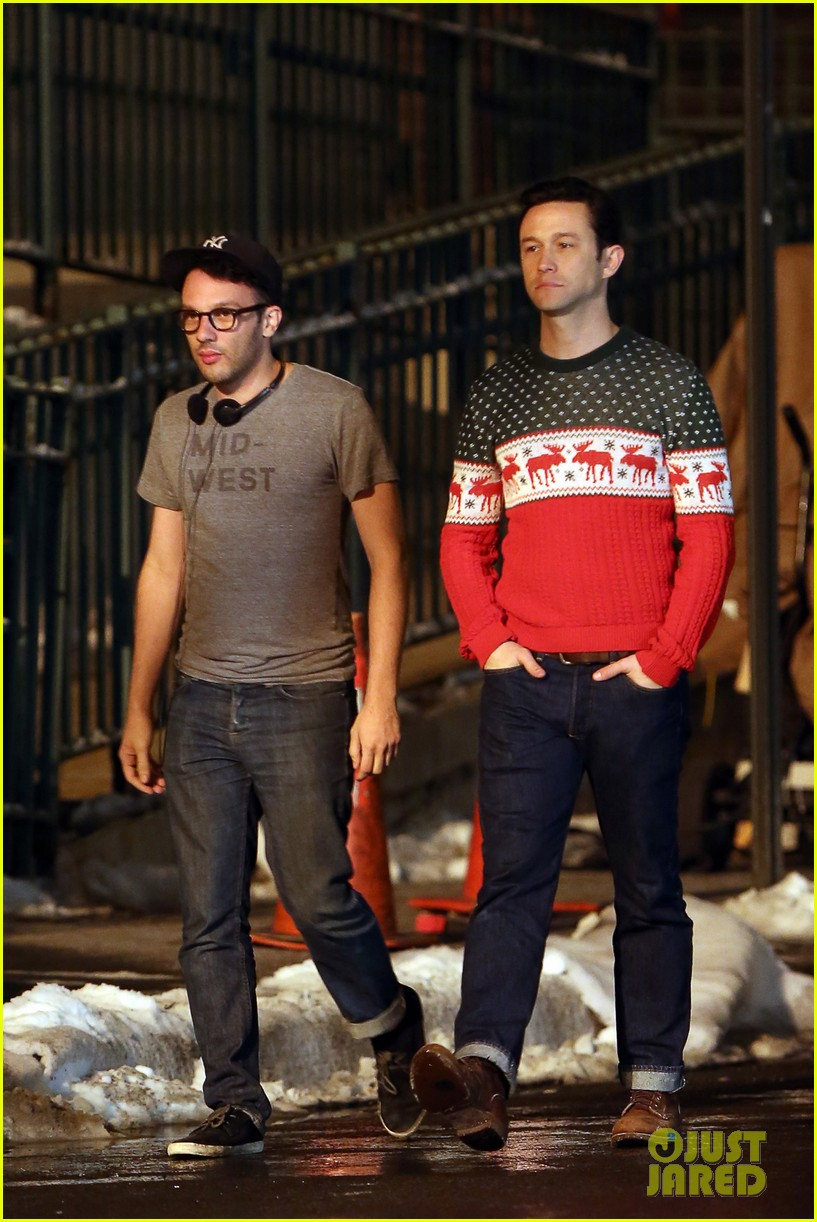 joseph gordon levitt anthony mackie seth rogen christmas movie 273186404