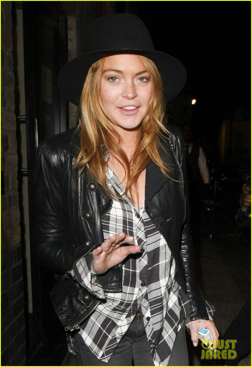 lindsay lohan quotes billy joel chiltern night out london 01