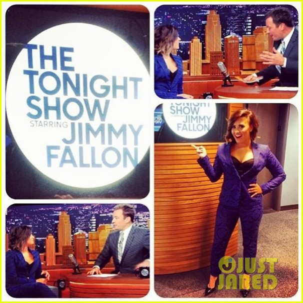 demi lovato tonight show jimmy fallon advice unqualified 033177352