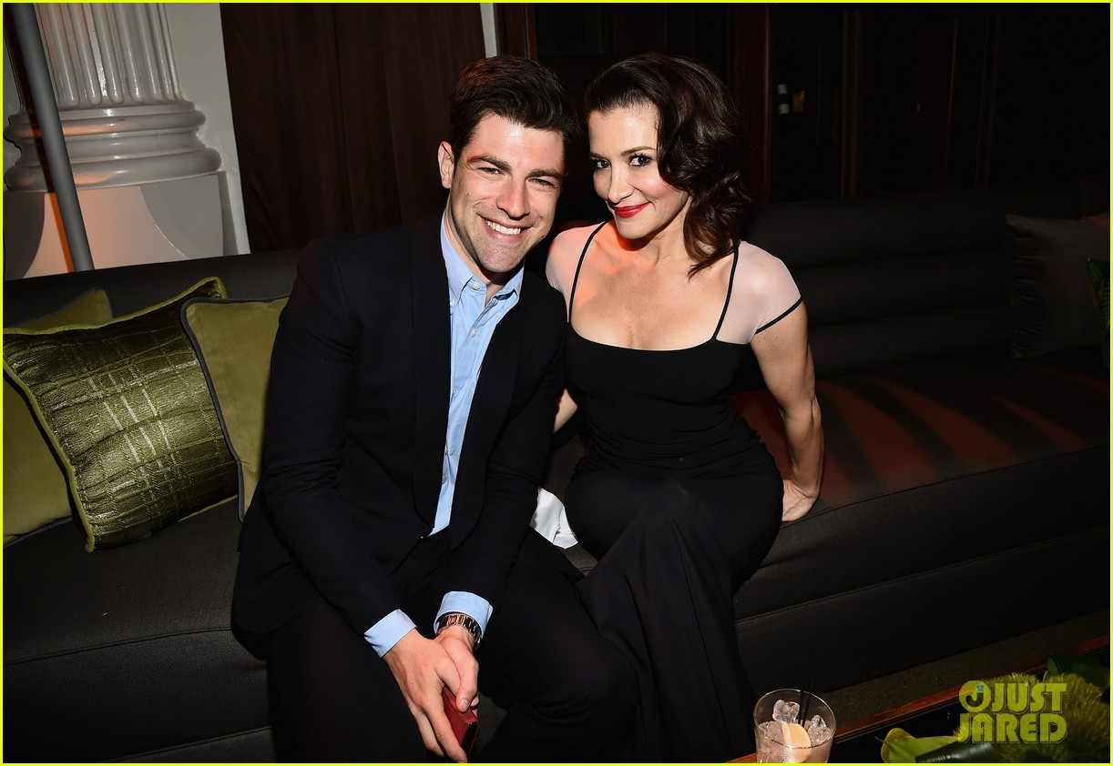 new girls max greenfield brings wife tess sanchez to emmys 2014 after party 013184271