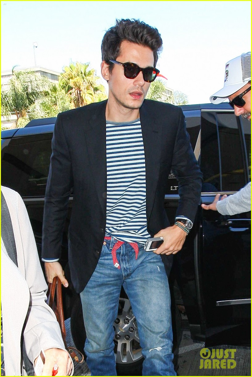 john mayer lax airport ed sheeran concert 043186421
