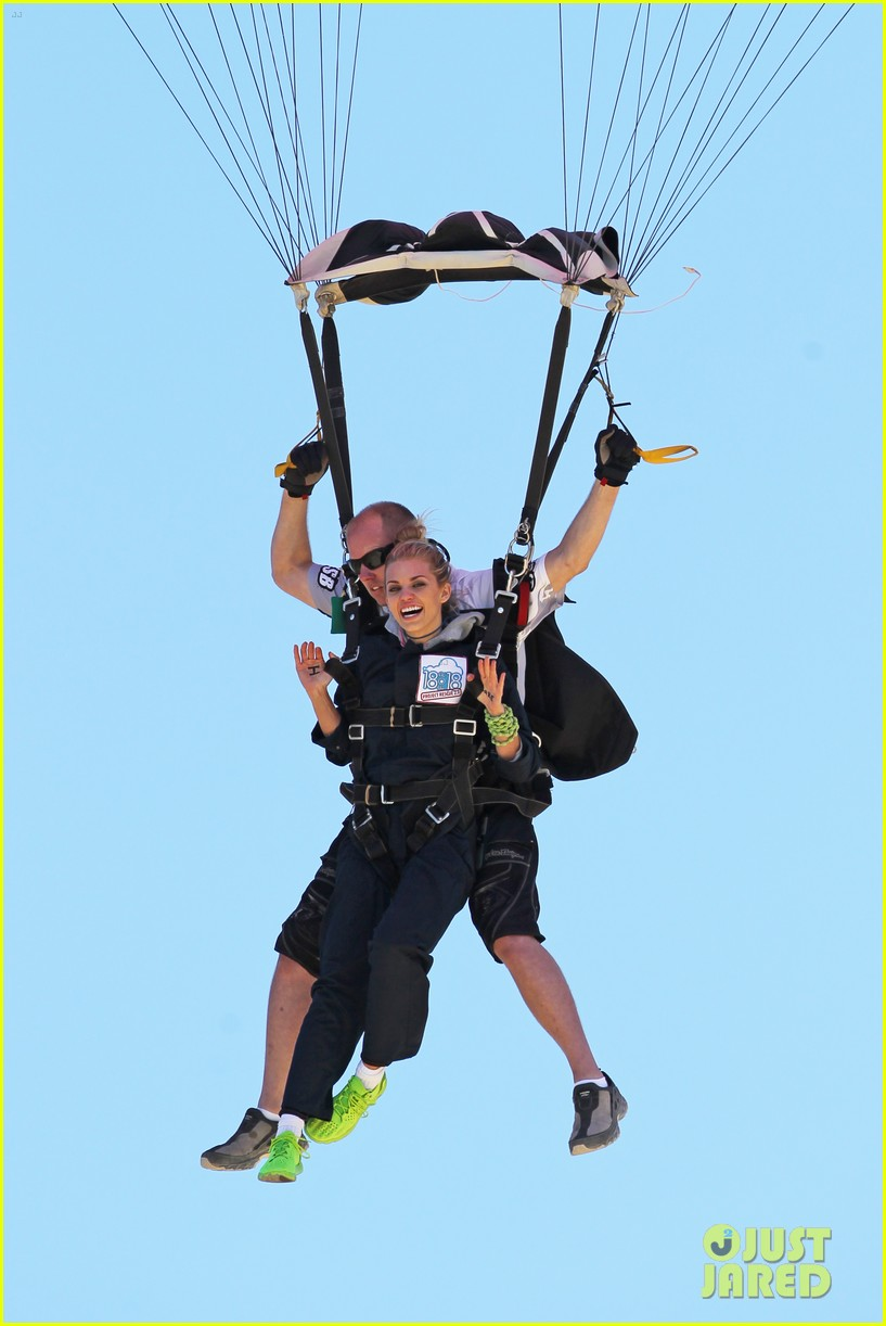 annalynne mccord charity i care skydiving 053178230