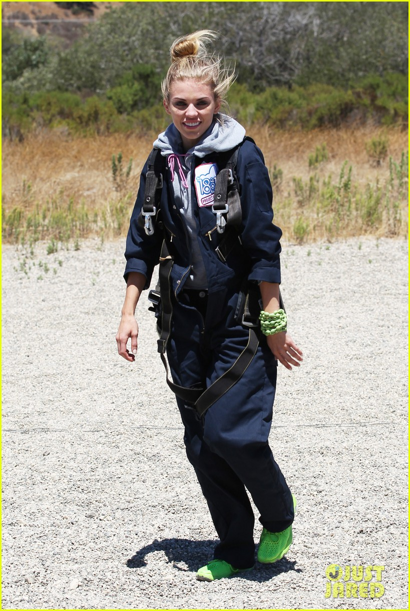 annalynne mccord charity i care skydiving 083178233