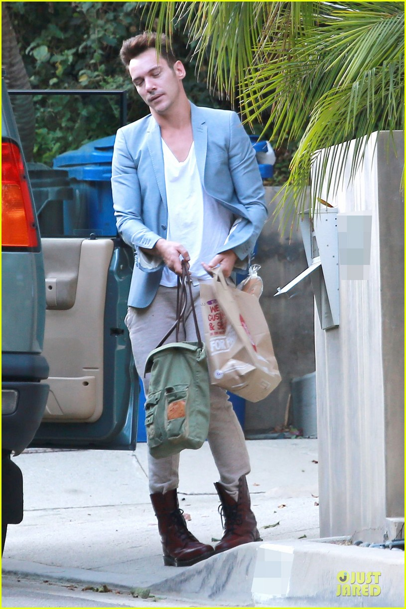 jonathan rhys meyers grabs groceries after another me hits theaters 01