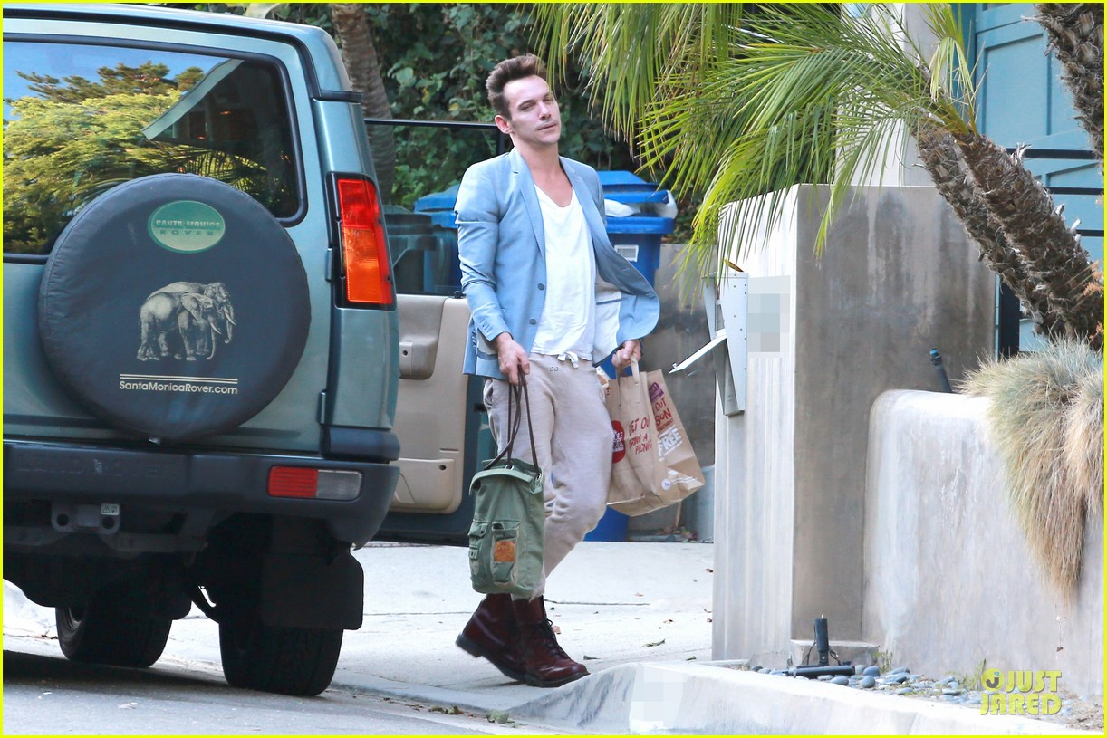 jonathan rhys meyers grabs groceries after another me hits theaters 05