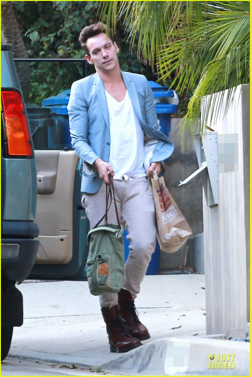 jonathan rhys meyers grabs groceries after another me hits theaters 073181612