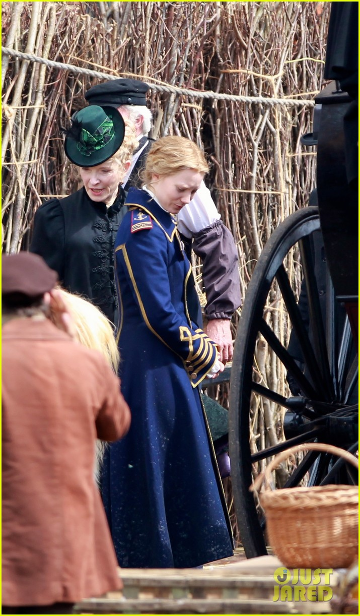 mia wasikowska captain blues coat looking glass 023178766