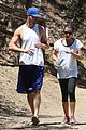 lea michele matthew paetz sweat it out 12