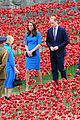 kate middleton prince william visit stunning ceramic poppy installation 03