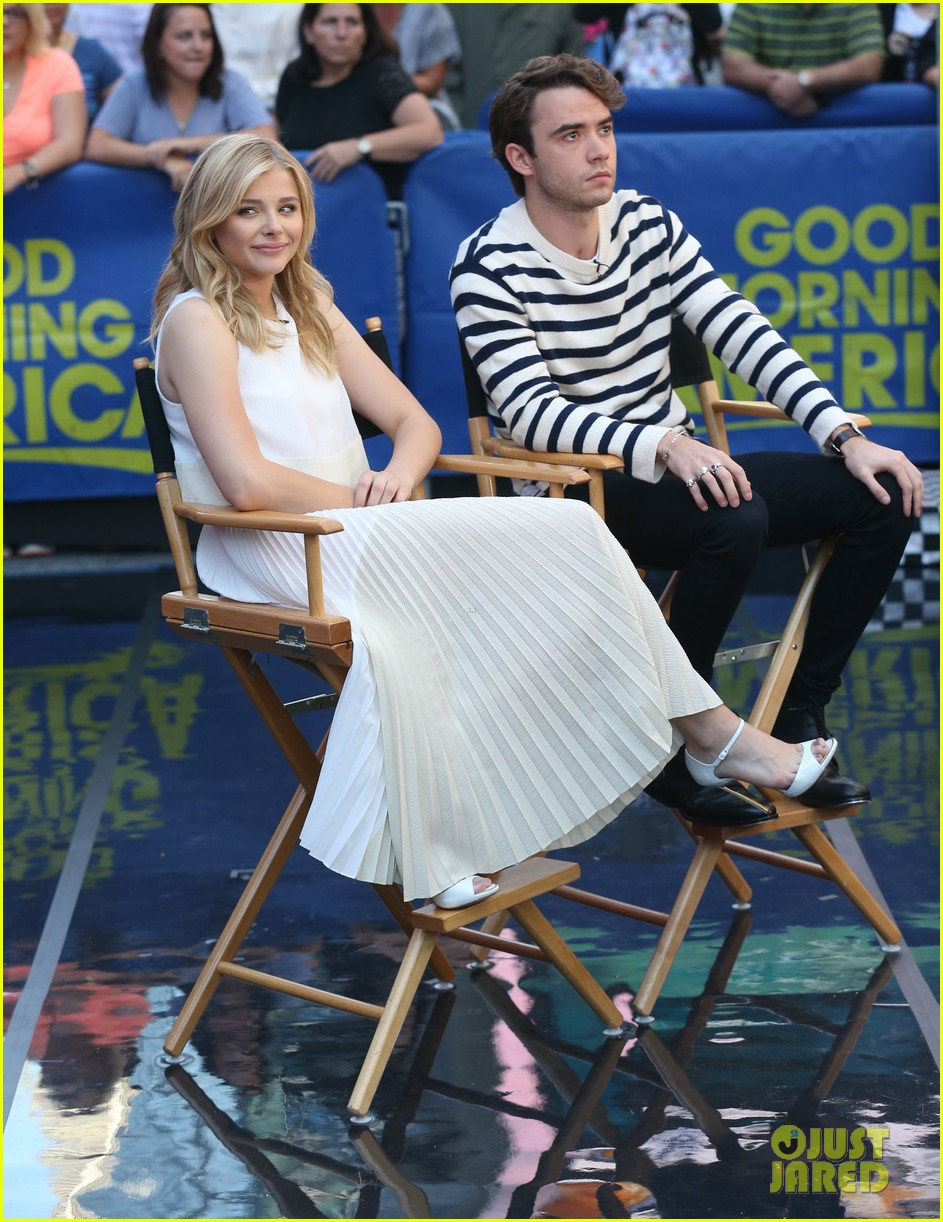 chloe moretz jamie blackley stay gma spot 103178627