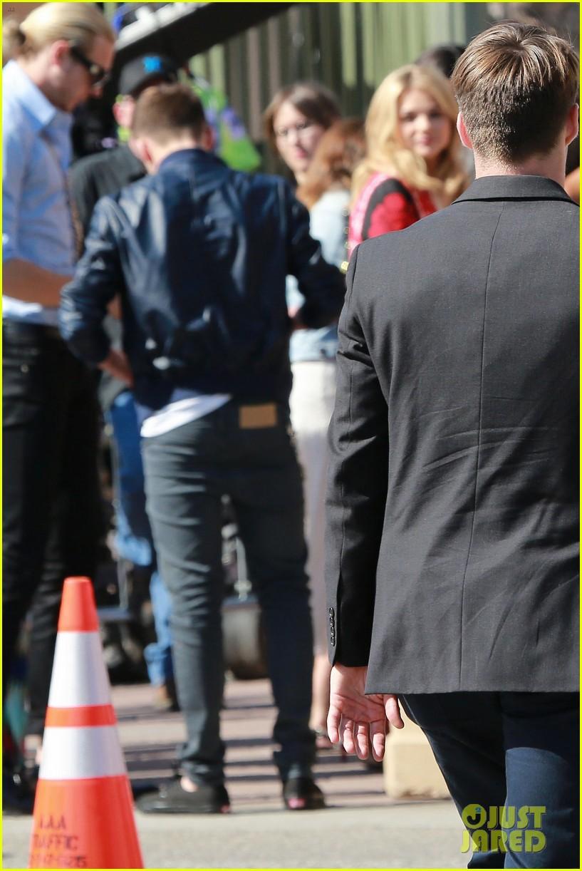 Chloe and Brooklyn Beckham 2014