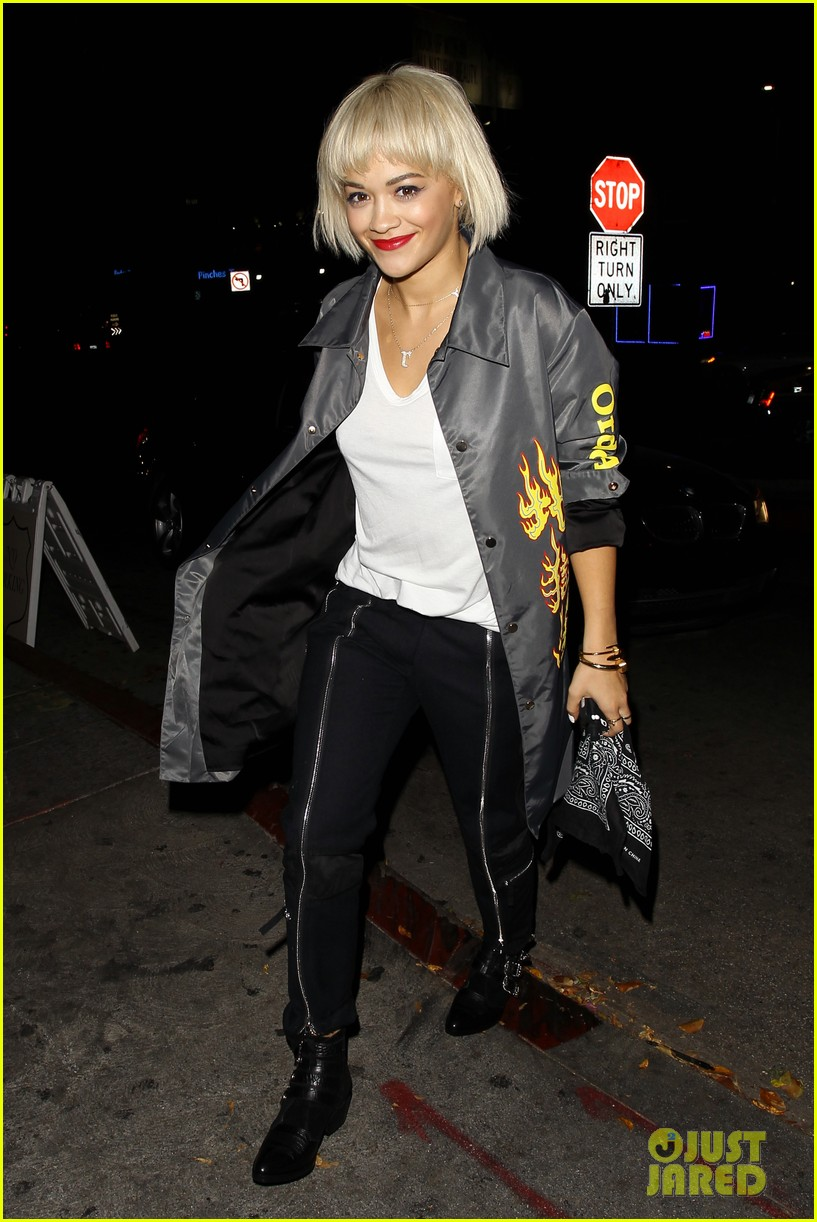 rita ora chateau marmont night out 033186697