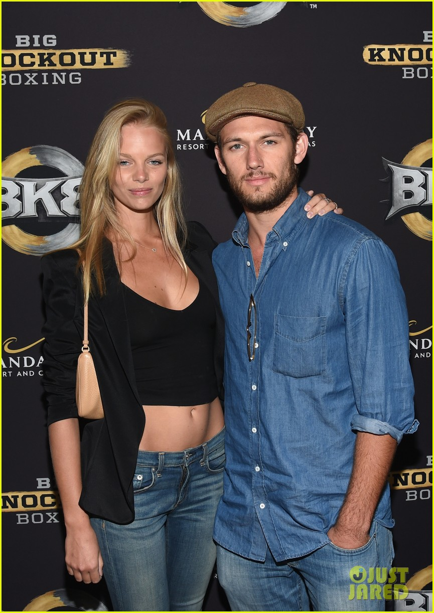 alex pettyfer marloes horst first red carpet appearance 093177822