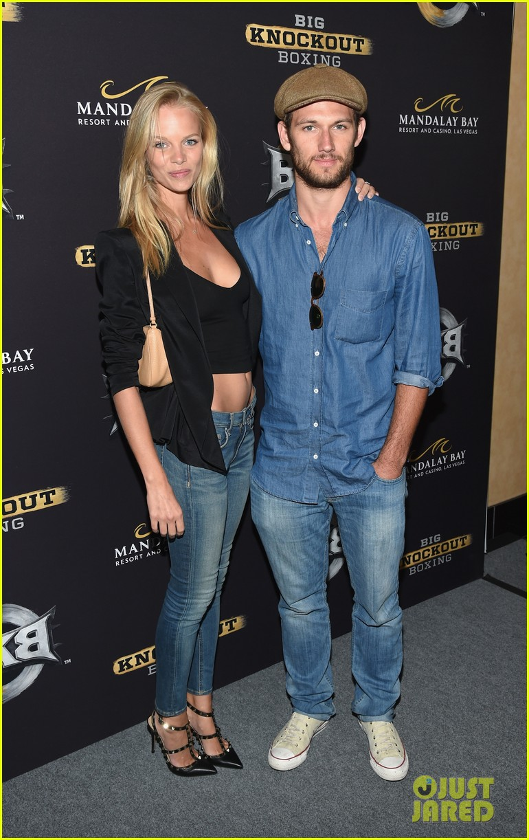 alex pettyfer marloes horst first red carpet appearance 13