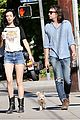 krysten ritter adam granduciel keep distance on stroll 03