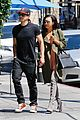 naya rivera ryan dorsey hold hands birds cafe 01