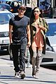 naya rivera ryan dorsey hold hands birds cafe 04