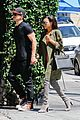 naya rivera ryan dorsey hold hands birds cafe 07