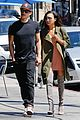 naya rivera ryan dorsey hold hands birds cafe 15