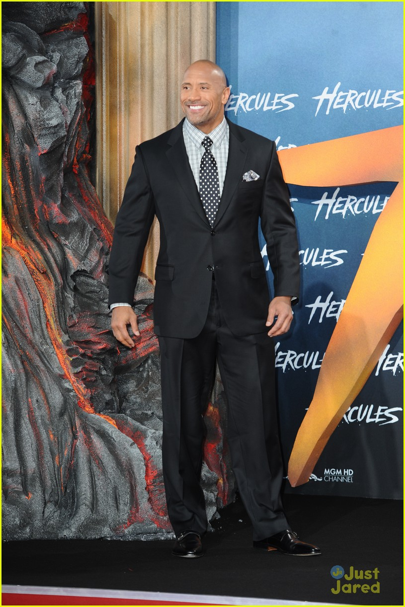 dwayne the rock johnson hercules berlin premiere 11