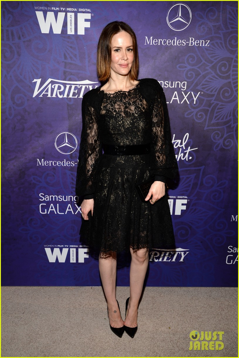 sarah paulson sophia bush variety emmys party 2014 013181994