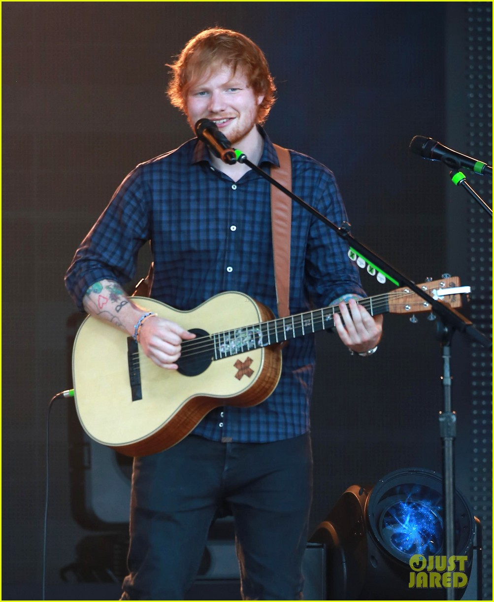 ed sheeran kimmel live performance 01