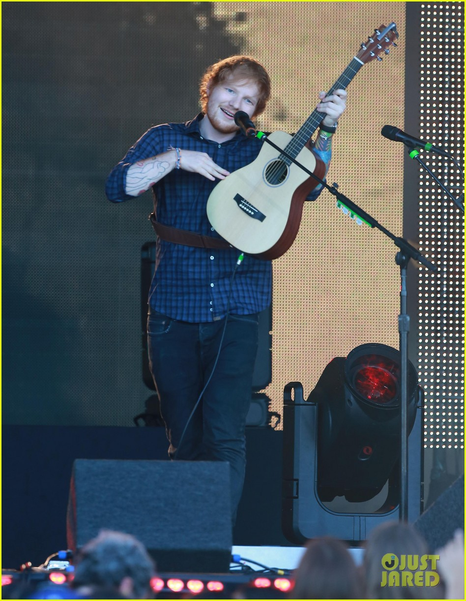 ed sheeran kimmel live performance 02