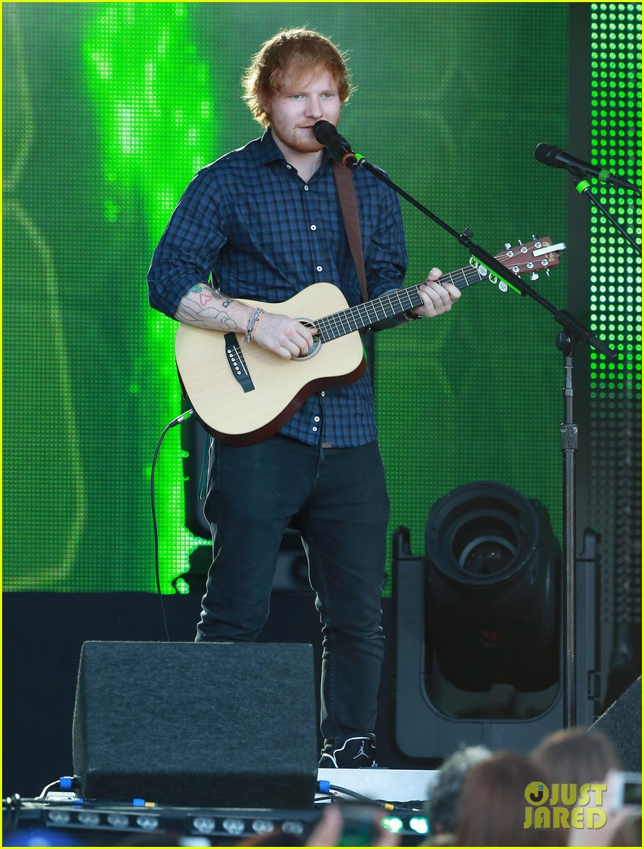 ed sheeran kimmel live performance 07