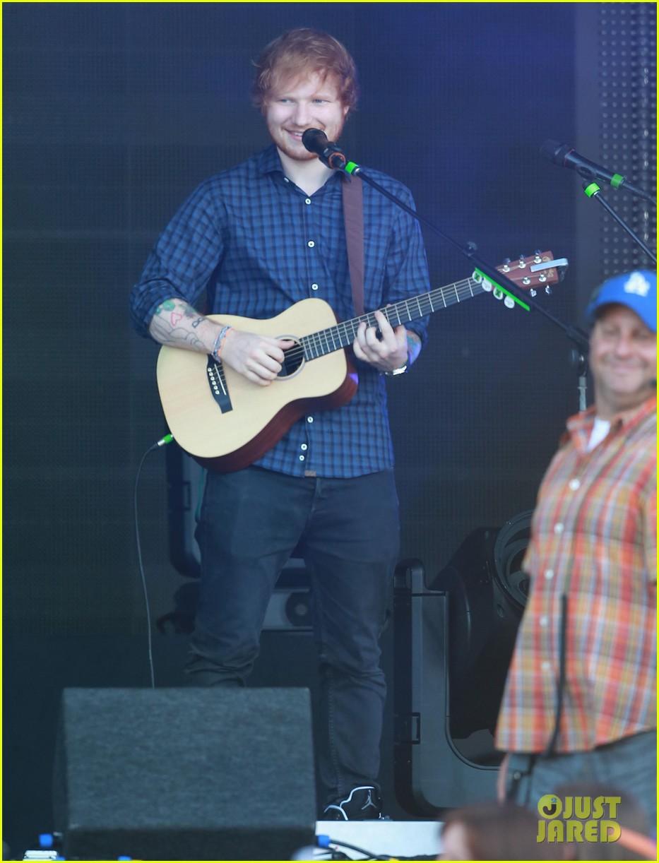 ed sheeran kimmel live performance 08