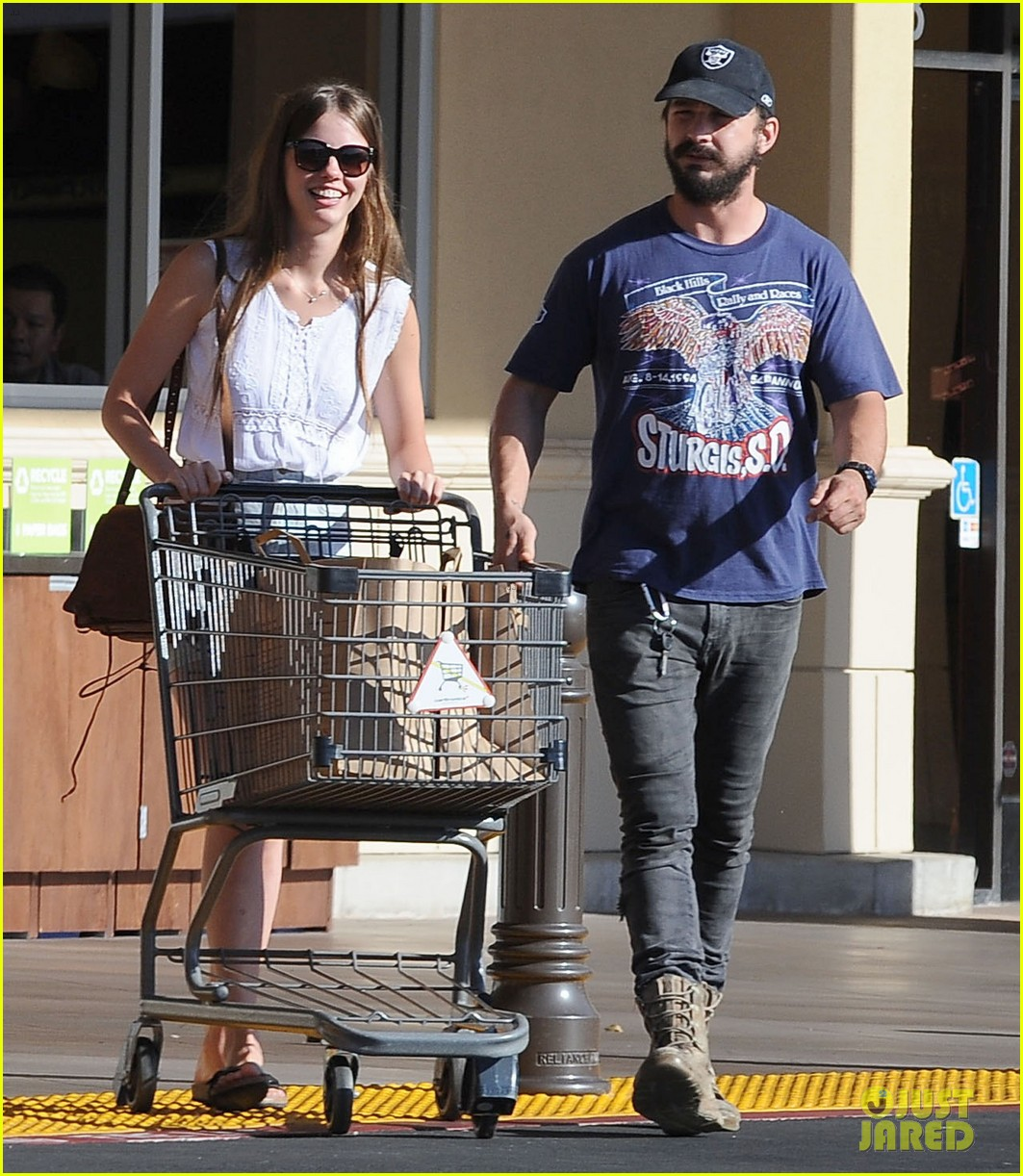shia labeouf girlfriend mia goth lemonade lunch lovers 093186958