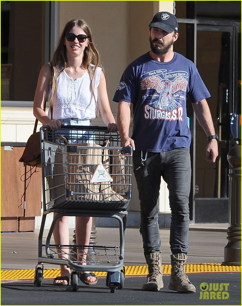 shia labeouf girlfriend mia goth lemonade lunch lovers 113186960