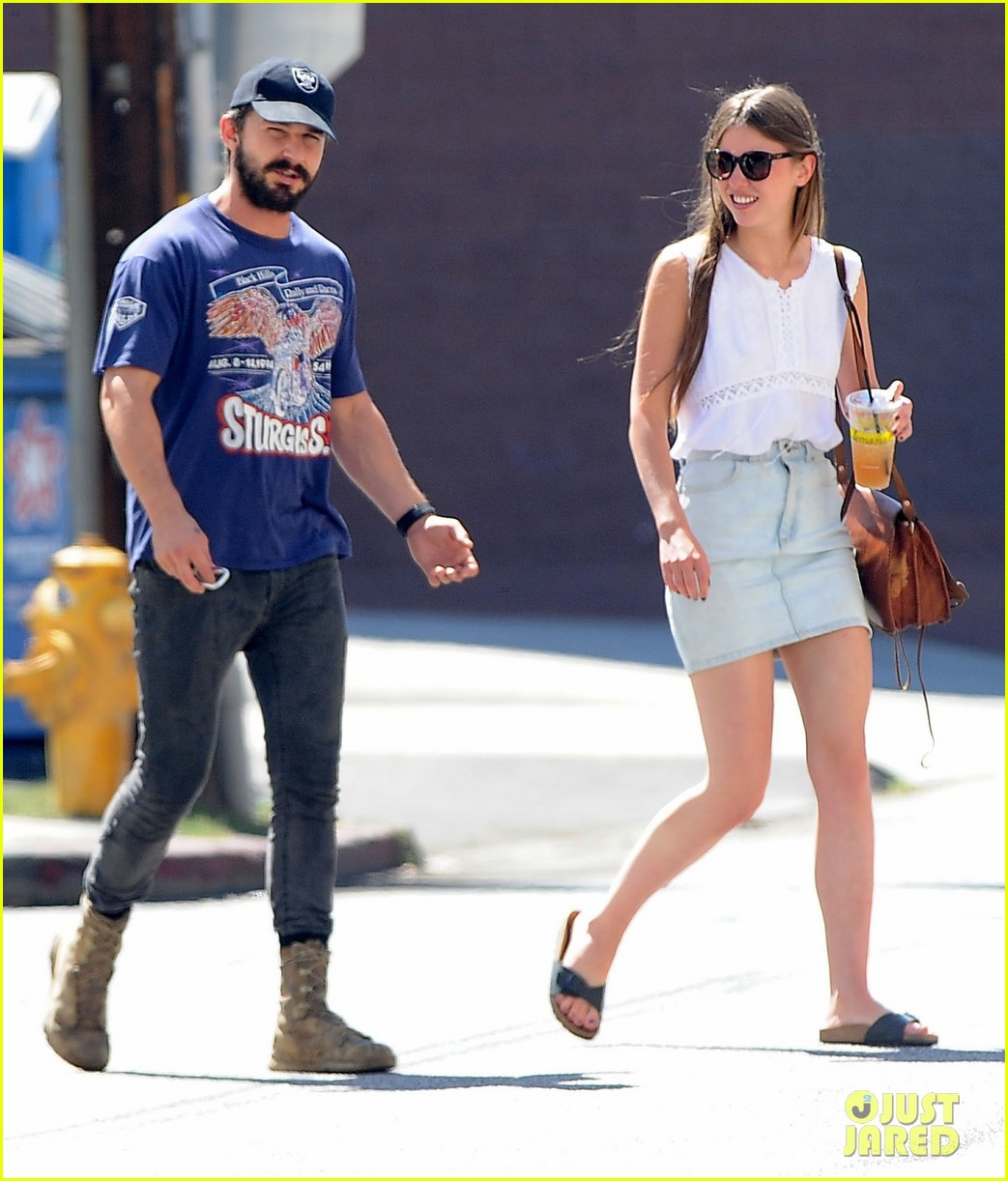 shia labeouf girlfriend mia goth lemonade lunch lovers 22