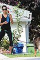 ian somerhalder nikki reed hiking dogs 11