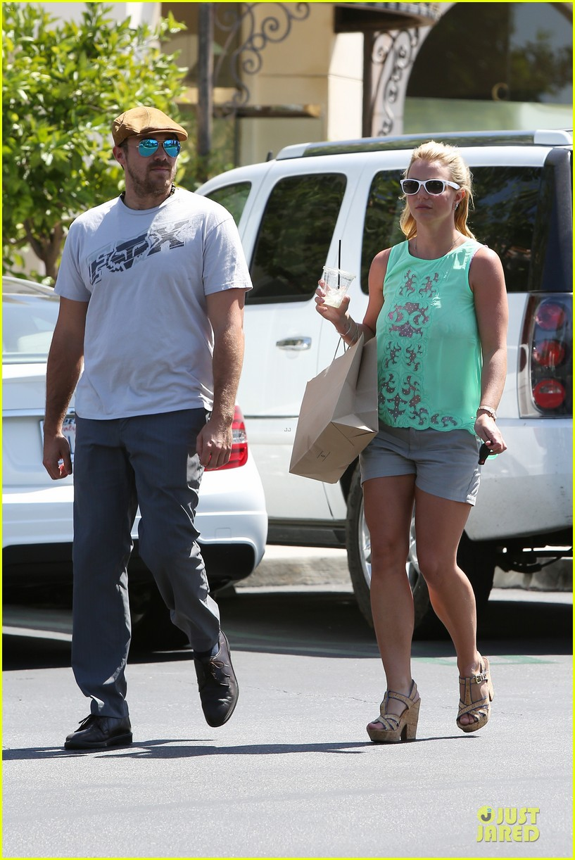 britney spears david lucado spend precious time together 21