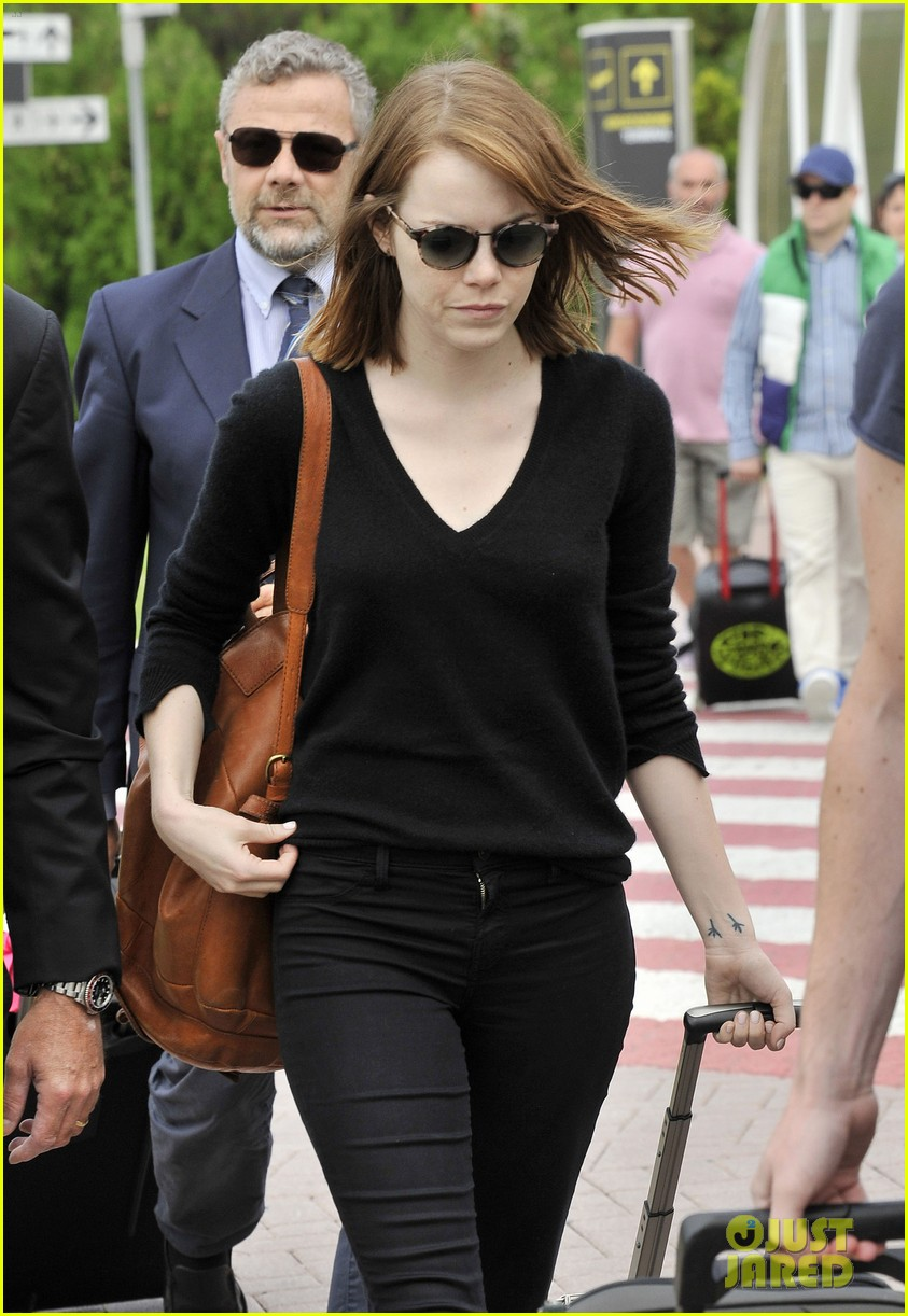 emma stone arrives for venice film festival for birdman opening 063184200